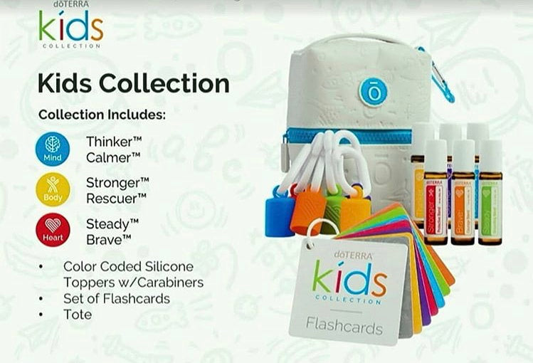 Doterra Cptg Kids Oil Collection Healthy Body Head To Toe