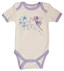 Organic Cotton Fairy Dreams Onesie