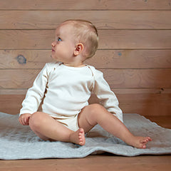 Organic Cotton Long Sleeve Onesie Bodysuit 3-6 mth