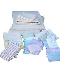 "Baby Bunk Sheets Organic Cotton 15 x 35"" - Clearance Pricing"