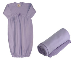 Organic Cotton Light Purple Baby Set