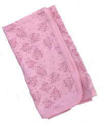 Organic Cotton Fancy Receiving Blanket Pink Fairy