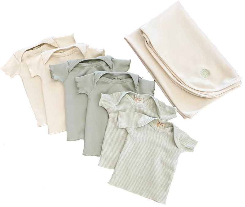 Ecobaby Infant Neutrals Set Short Sleeve
