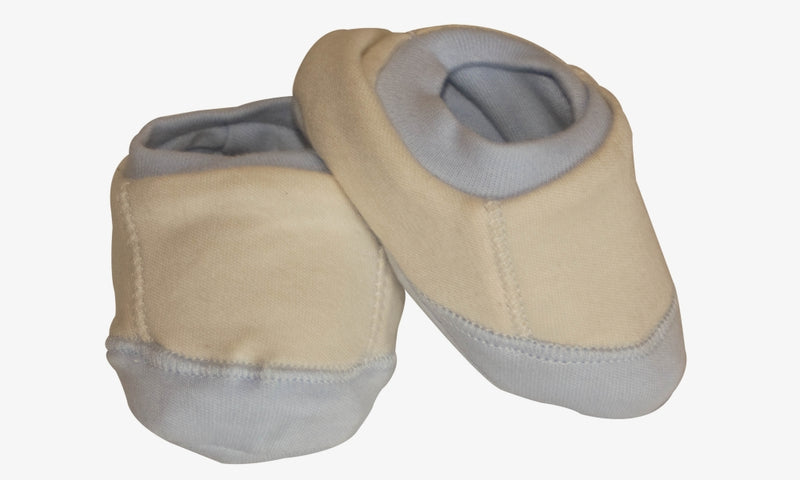 Organic Cotton Baby Booties