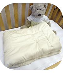 EcoWool Filled Organic Cotton Toddler Comforters