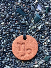 Capricorn Diffuser Necklace Terracotta