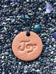 Joy Diffuser Necklace Terracotta