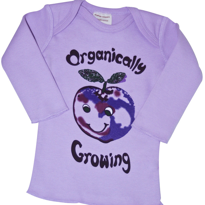 Ecobaby Organic Cotton Infant Tee Long Sleeve