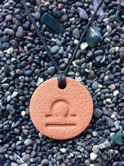 Libra Diffuser Necklace Terracotta
