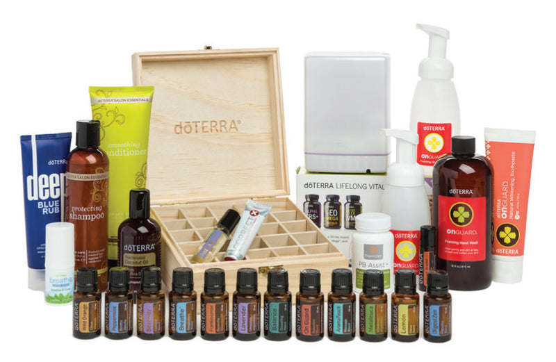 doTERRA Deluxe Natural Solutions Enrollment Kit