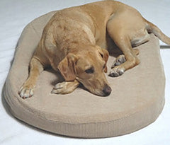 Deluxe Pet Beds Organic Cotton Organic Latex Zip Outer