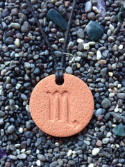 Scorpio Diffuser Necklace Terracotta
