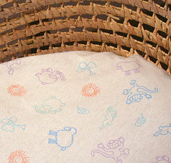 Bassinet Oval Sheets Organic Cotton 18 x 31