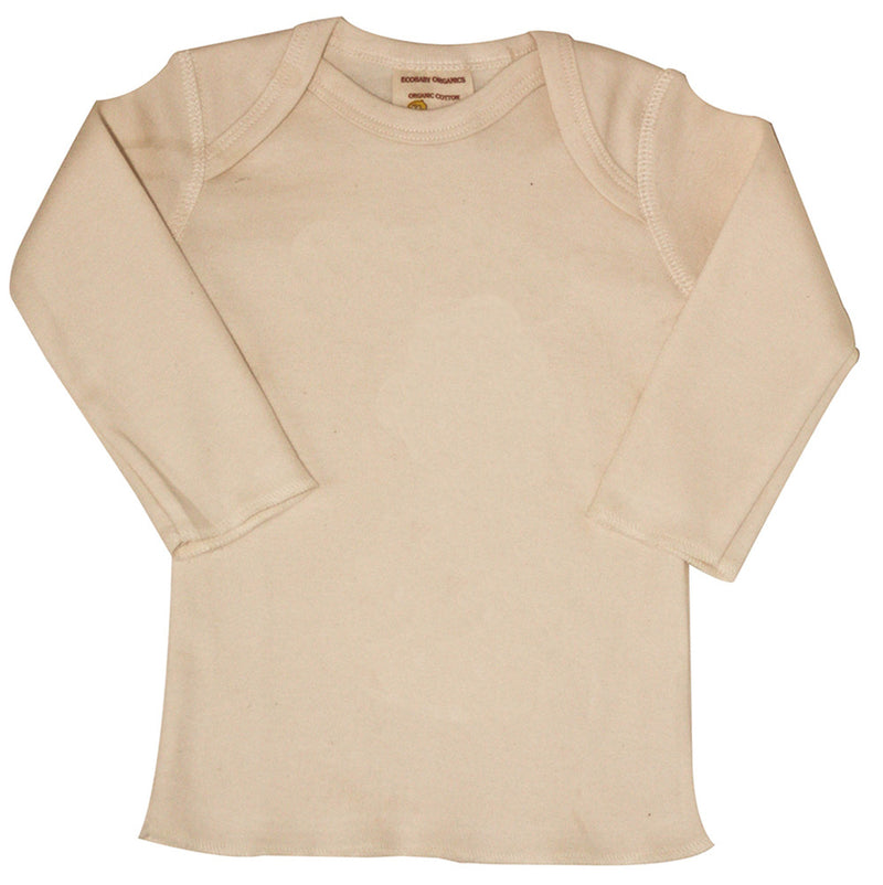Long Sleeve Organic Cotton Baby Tee - Free Shipping