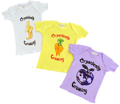 Ecobaby Organic Cotton Infant Tee Shirt Short Sleeve