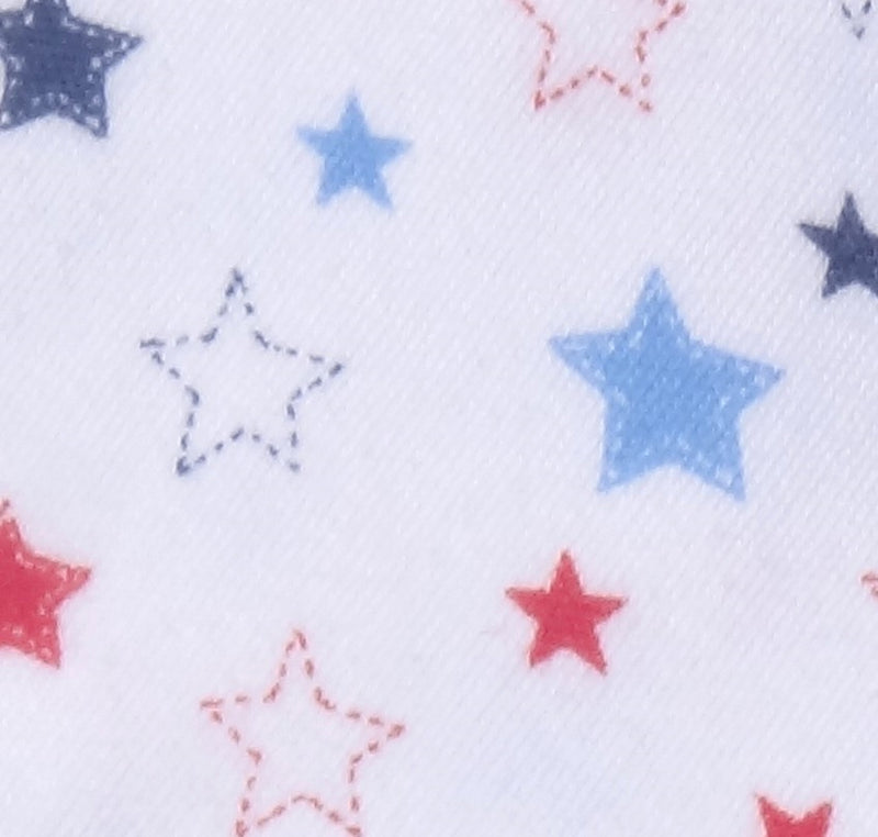 Organic Cotton Jersey Receiving Blanket Stars 3 Pack
