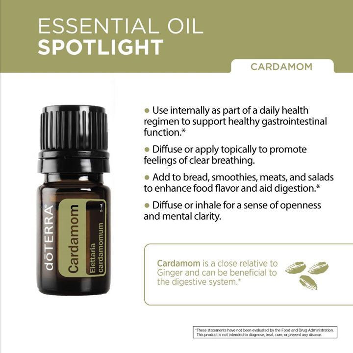 doTERRA CPTG Cardamom Essential Oil 5ml