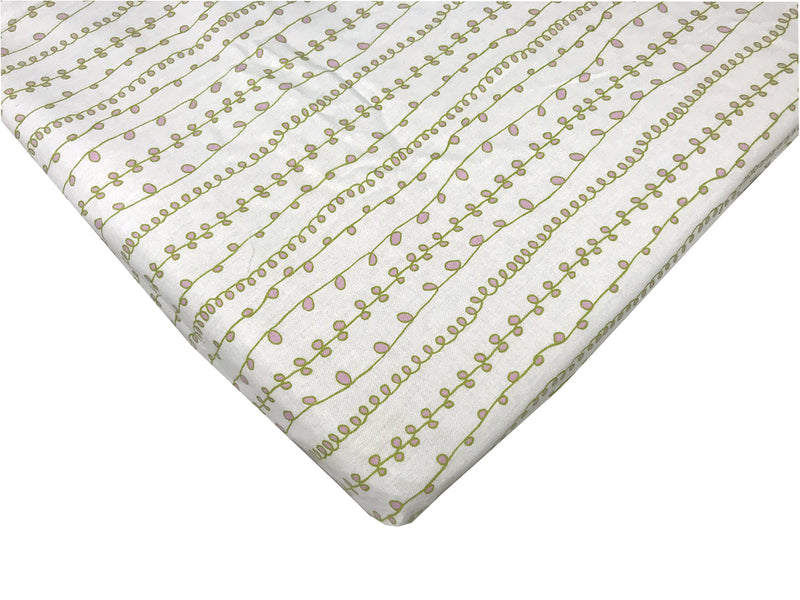 "Baby Bunk Sheets Organic Cotton 15 x 35"" - Clearance"
