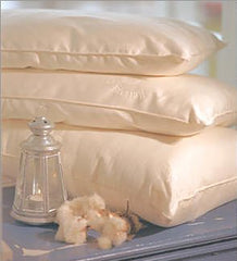 Organic Cotton Pillow - Eco Wool Filled