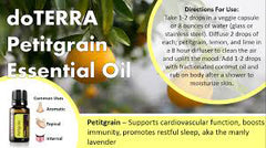doTERRA CPTG Petitgrain Essential Oil 15ml