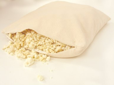 Organic Cotton Natural Shredded Latex Fill Pillows