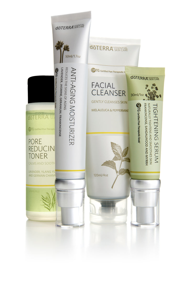 doTERRA Facial Skin Care System with Anti-Aging Moisturizer