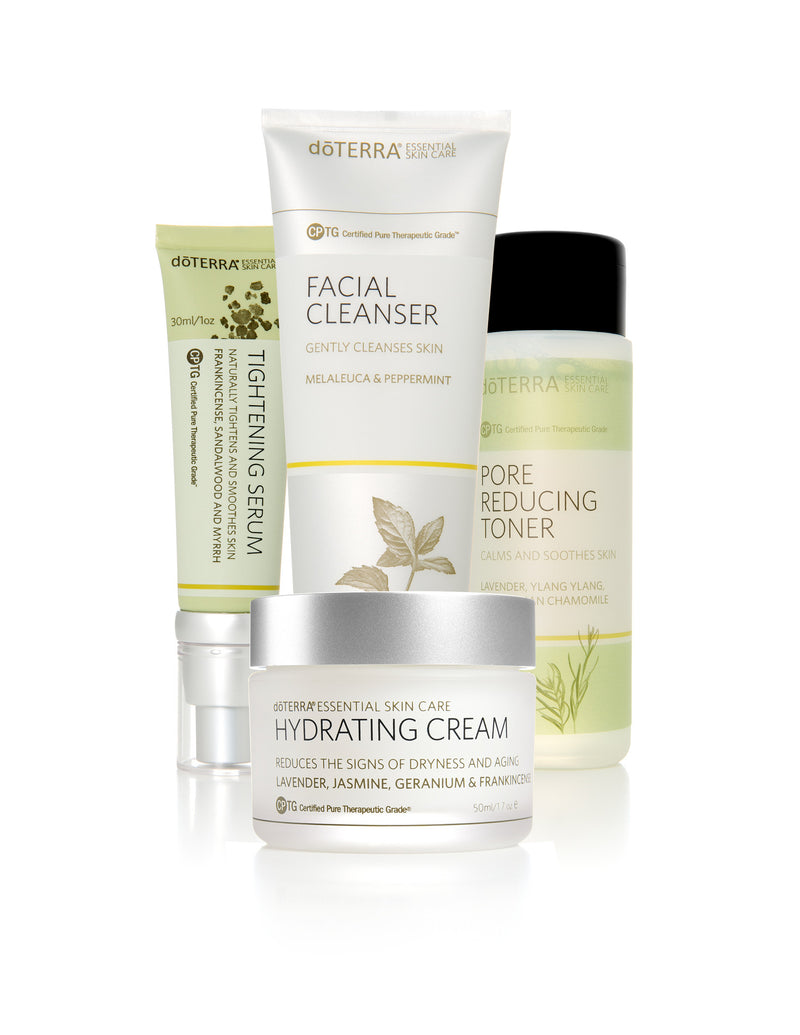 doTERRA Facial Skin Care System with Hydrating Cream