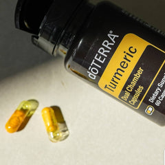 doTERRA Turmeric Dual Chamber Supplement - 60 capsules