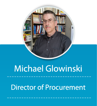 Michael Glowinski (Director of Procurement)