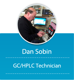 Dan Sobin (7 years @ Buck, GC/HPLC Technician)