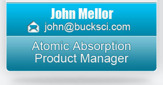 John Mellor-Atomic Absorption Product Manager