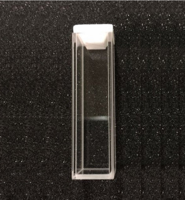 Type 3 Infrasil Fluorimeter Cuvette with 10 mm Path Length
