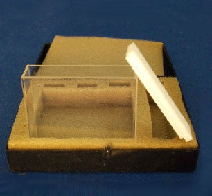 Type 3 Glass Fluorimeter Cuvette with 50 mm Path Length