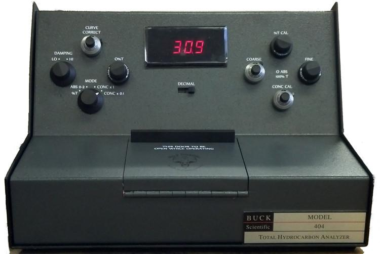 HC-404 Hydrocarbon analyzer