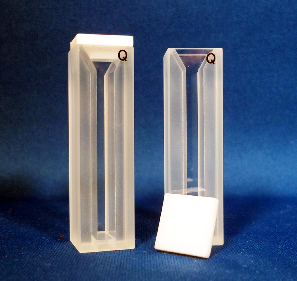 Type 9 Quartz Cuvette with 10mm Path Length