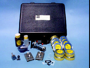 FTIR Sampling Accessory Kit with KBr windows