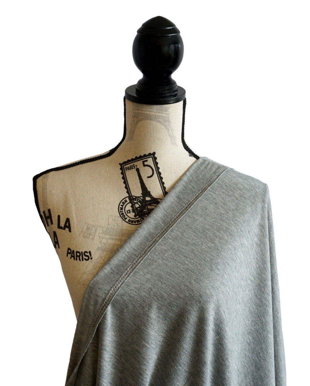 Infinity scarf - Nursing Breastfeeding cover Solid Pattern - Grey - scarftopia