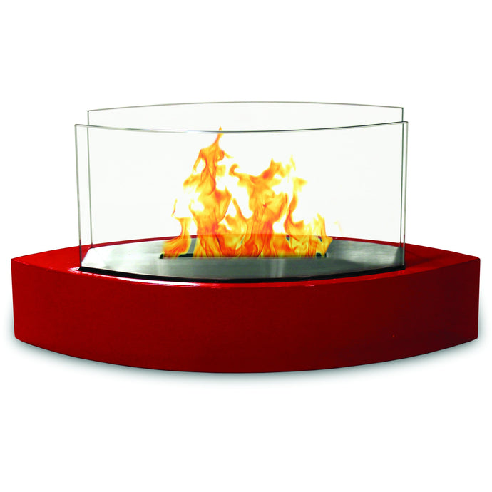 Anywhere Fireplace - Lexington Red (90208) Ethanol Tabletop Fireplace - Prometheus Fireplaces