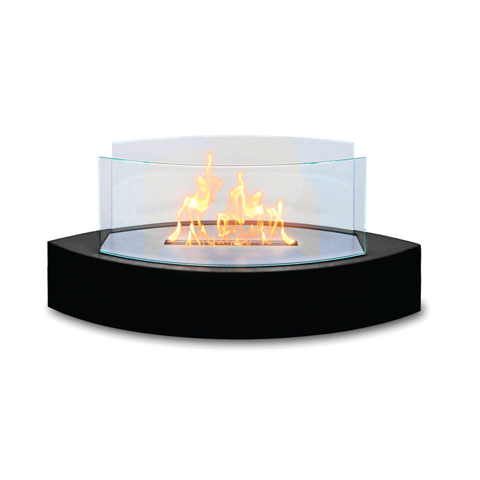 Anywhere Fireplace - Lexington Black (90215) Ethanol Tabletop Fireplace - Prometheus Fireplaces
