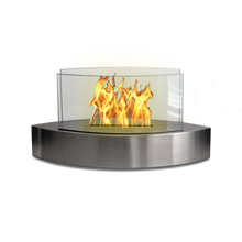 Load image into Gallery viewer, Anywhere Fireplace - Lexington Stainless Steel (90217) Ethanol Tabletop Fireplace - Prometheus Fireplaces