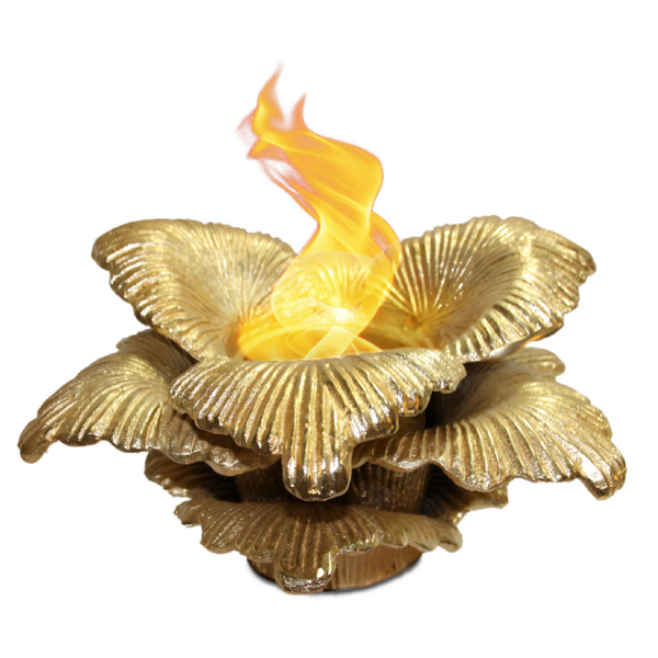 Anywhere Fireplace - Chatsworth Gold (90223) Tabletop Ethanol Fireplace - Prometheus Fireplaces
