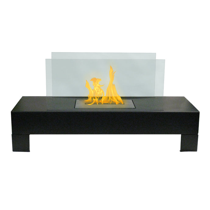 Anywhere Fireplace - Gramercy Black (90296) Tabletop Ethanol Fireplace - Prometheus Fireplaces