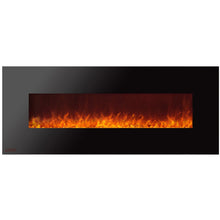 Load image into Gallery viewer, Ignis Royal - Wall Mount Electric Fireplace with Crystals - 72 inch - Prometheus Fireplaces
