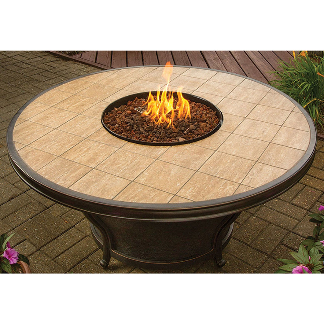 American Fire Glass Whitney Fire Pit Table - Prometheus Fireplaces