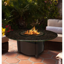 Load image into Gallery viewer, American Fire Glass Carmel Round 48 Inch Chat Height Fire Pit - Prometheus Fireplaces