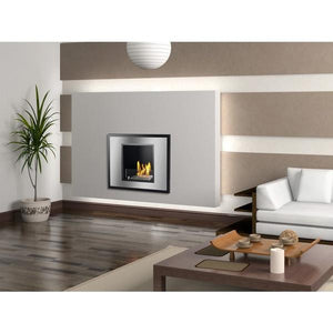 Vienna - Recessed Ventless Ethanol Fireplace - Prometheus Fireplaces