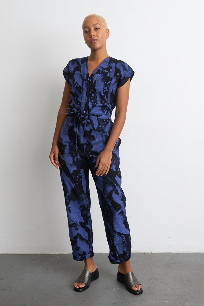 Accra Jumpsuit in Rorschach
