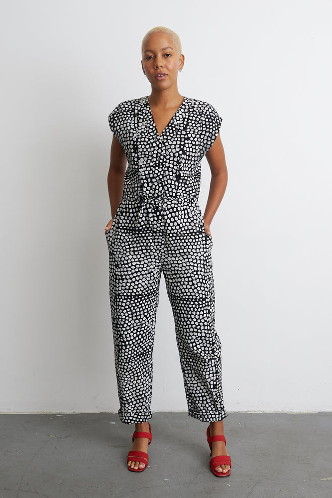 Accra Jumpsuit in Dot Dot Dot