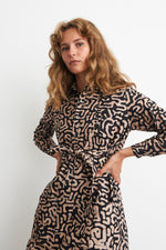 Causa Dress in E-Z Maze