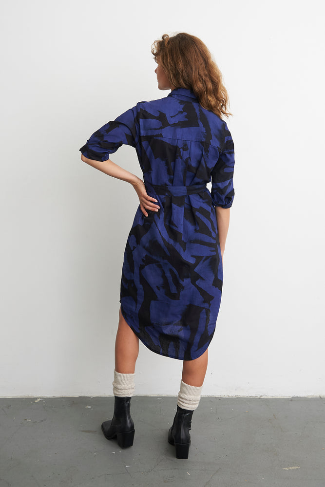 Causa Dress in Rorschach